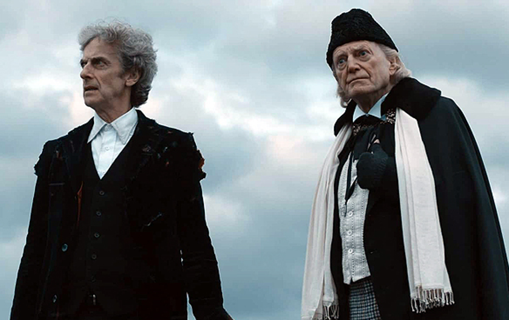 The Twelfth and First Doctors in Twice Upon a Time