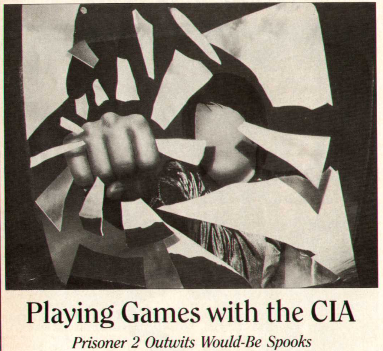 Atari Power scan of the 'Playing Games with the CIA' article